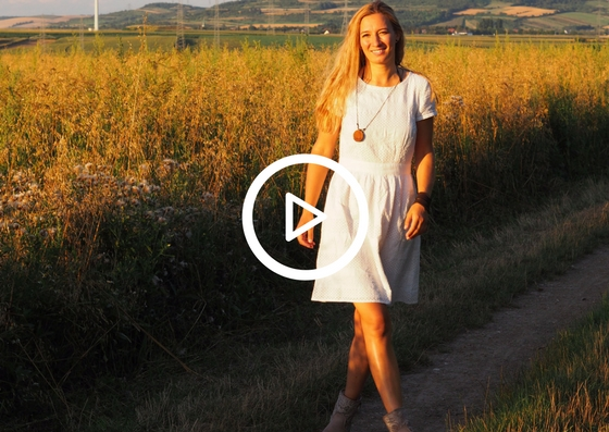 Schwarzkümmel aus dem Garten im Videoportrait