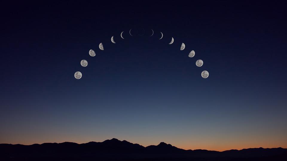 Wildniswissen: Wie du die Mondphasen mit freiem Auge erkennen kannst