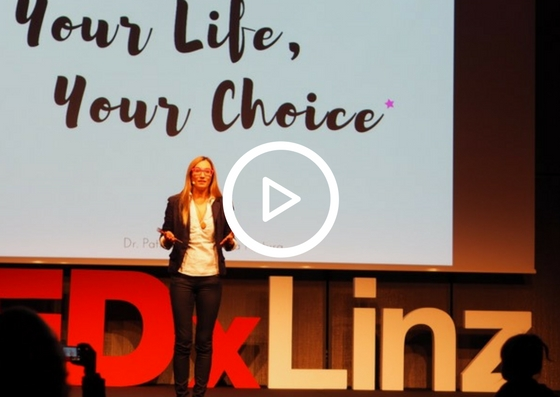 Re-wild Yourself: TEDx Talk von Patricia: Your Life, Your Choice